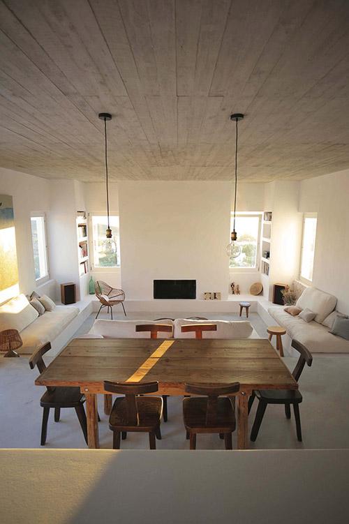 salón comedor de estilo minimalista