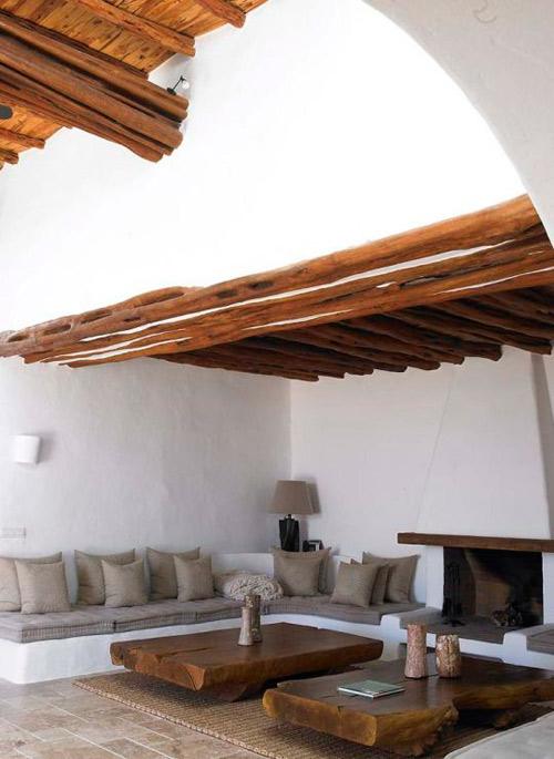 La madera en la decoración mediterránea