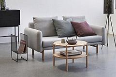 mesa de centro de estilo nórdico