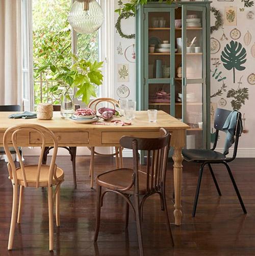 mesas rústicas de madera antiguas