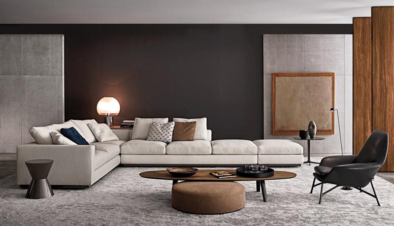 Mesa de centro de estilo y diseño escandinavo