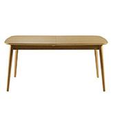 mesa de comedor de madera extensible