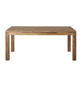 mesa rústica de madera para el comedor