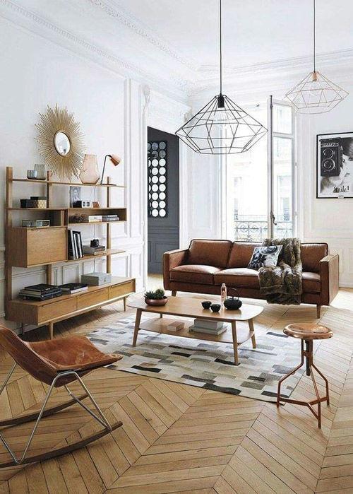 Mesa de centro de diseño mid century