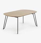 mesa extensible de madera  de madera