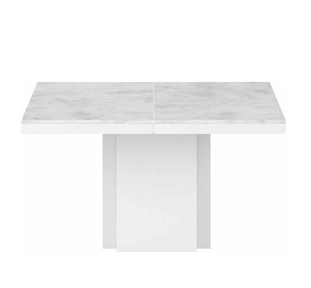 mesa de mármol extensible