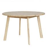 mesa redonda rústica de comedor