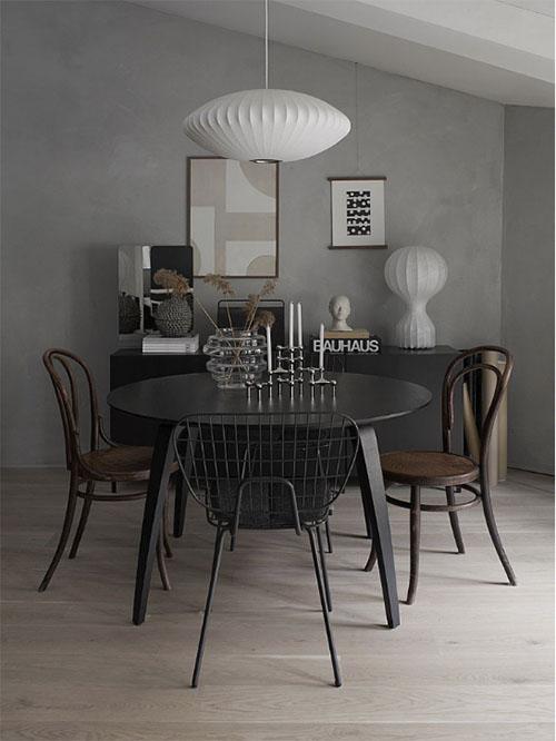 ideas para la decoración de comedores de estilo escandinavo