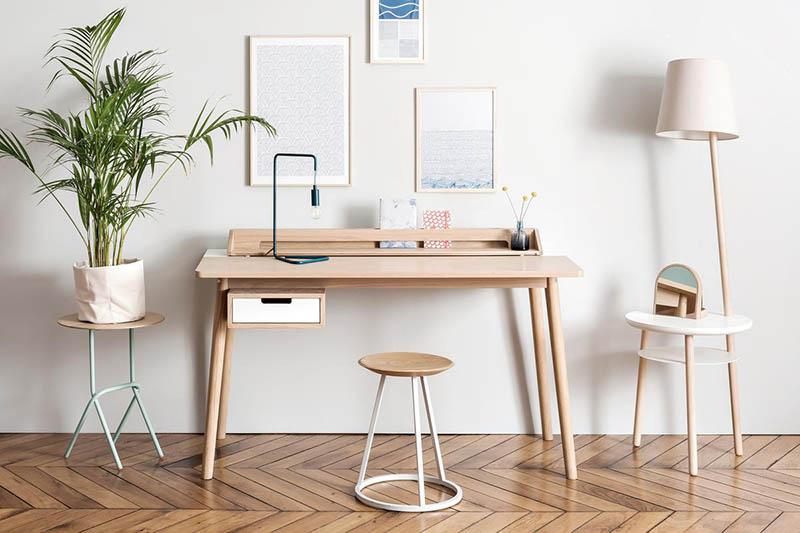 Mobiliario de oficina para trabajar en el hogar