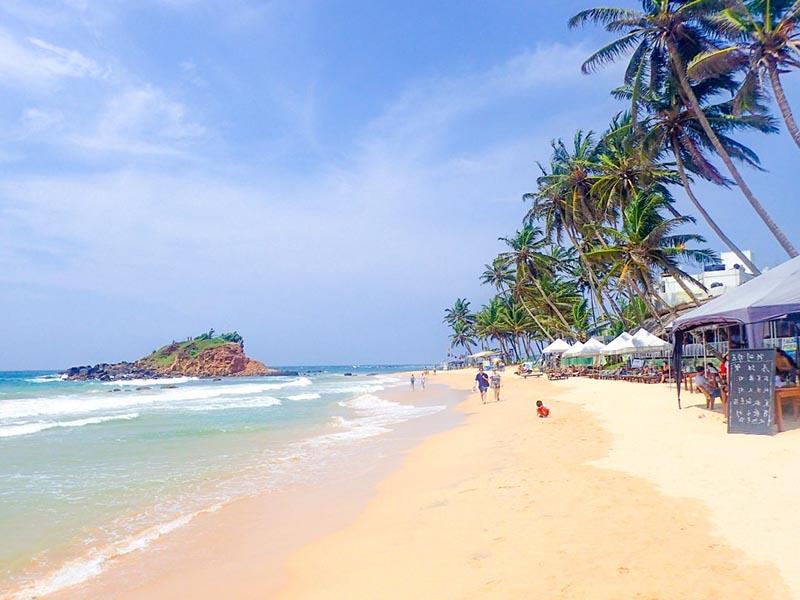 Las playas de mirissa