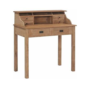mueble mesa escritorio estilo rústico