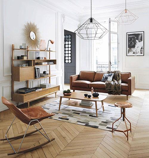 muebles retro en la decoración del hogar