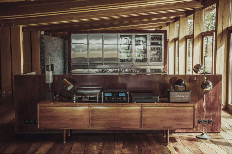 Decoración con muebles de diseño vintage de madera