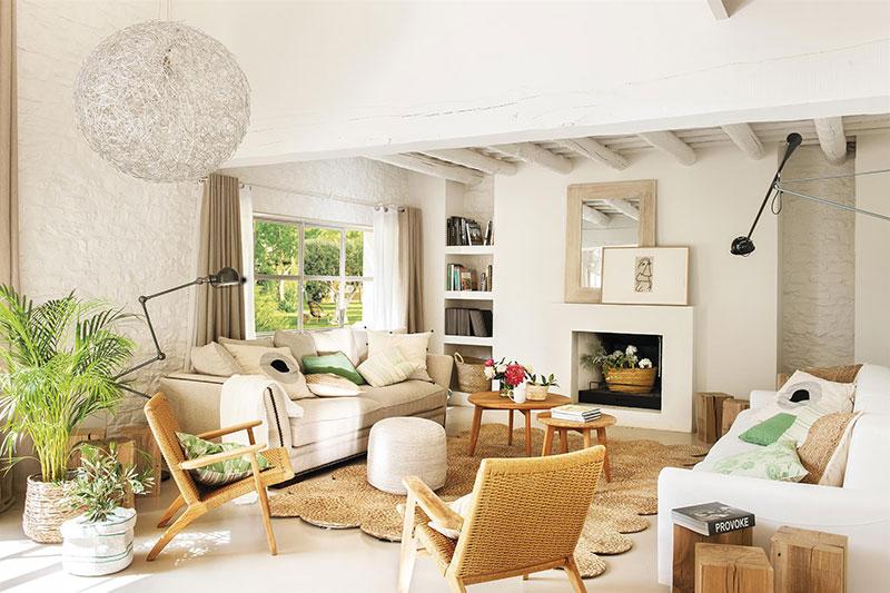 muebles para una casa rural