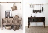 Muebles de madera de la India