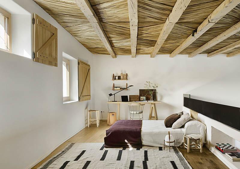 ideas para decorar una habitación de estilo rústico