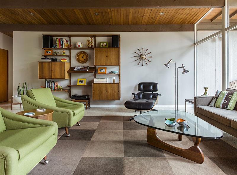 muebles vintage para la decoración del salón