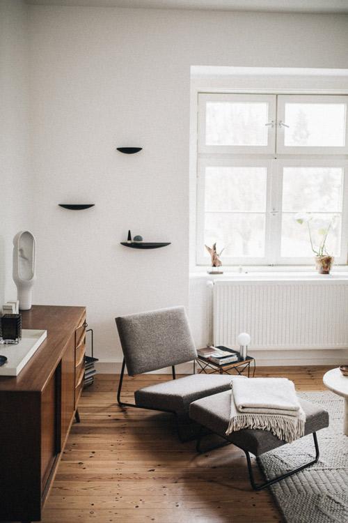 Muebles prácticos y funcionales en la decoración minimalista