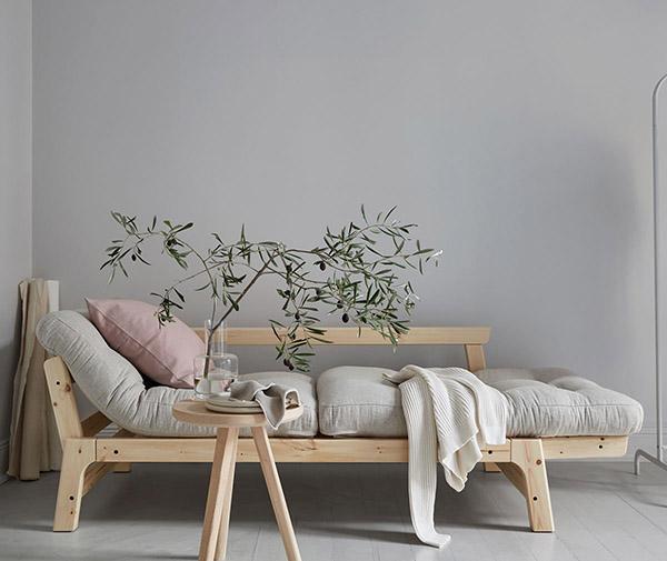 muebles de madera de diseño escandinavo y estilo japonés