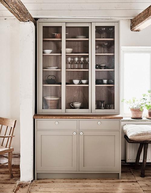 muebles rúticos de cocina