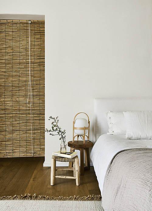 muebles de madera en la decoración rústica