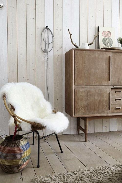 La madera en la decoración de interiores nórdicos
