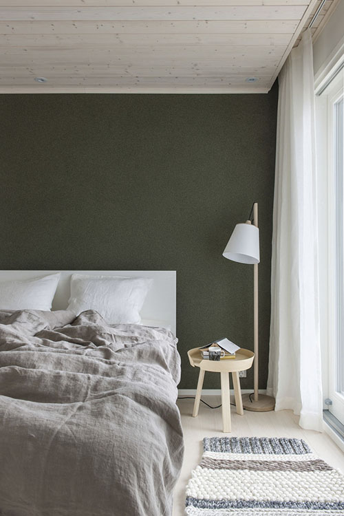 sábanas de lino para decorar la habitación
