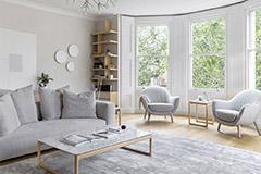 muebles para un salón nórdico