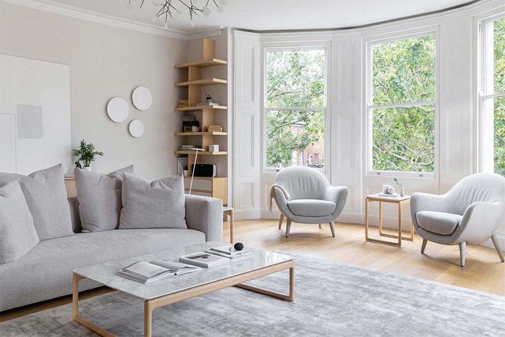 muebles salón estilo nórdico
