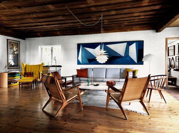 Muebles vintage nordicos para decorar la casa