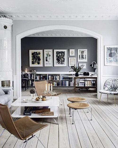 Cómo decorar con muebles nórdicos