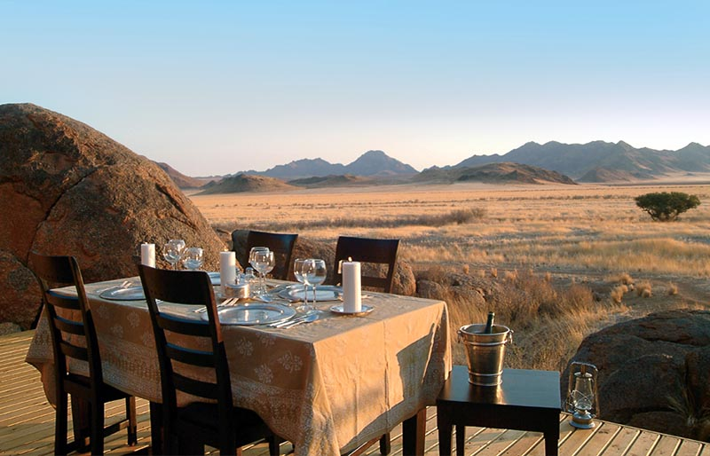 Hotel de lujo en Namibia