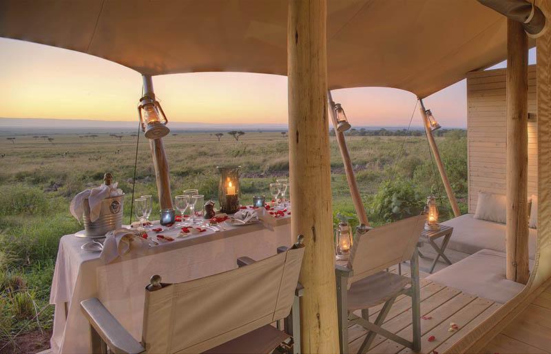 Safari de lujo en Kenia