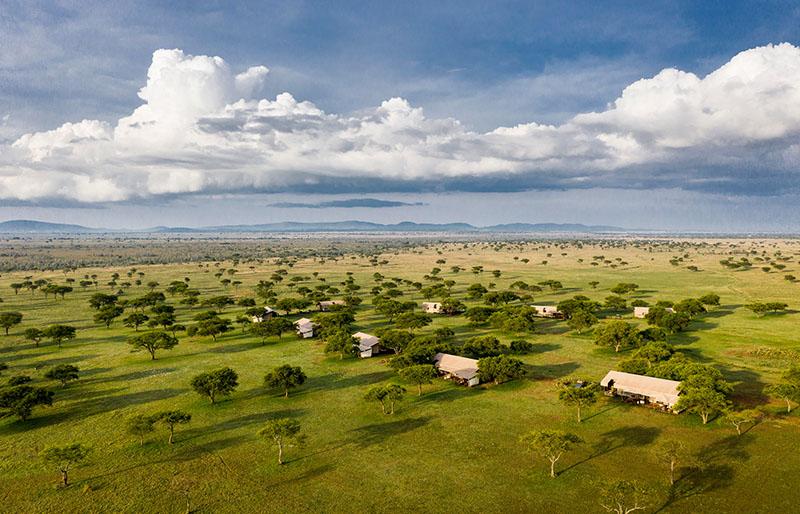 resorts de lujo en el serengeti