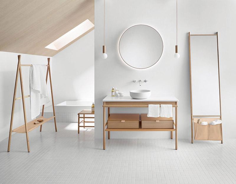 orden y limpieza en el baño
