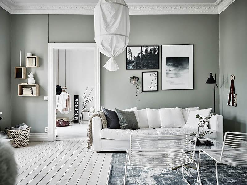 ideas de colores para el salón