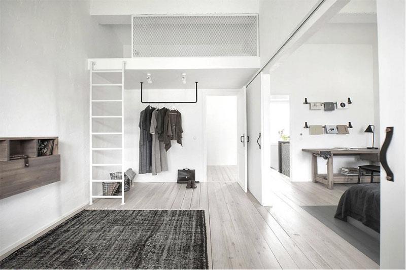 Blano y negro en la decoración de interiores