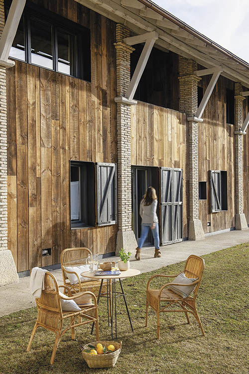 decoración rústica de casas de campo