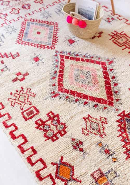 Motivos y patrones en las alfombras de Marruecos