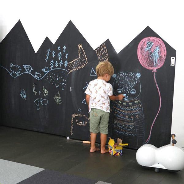 C mo hacer una pared de pizarra ideas y consejos - Pared pizarra ninos ...