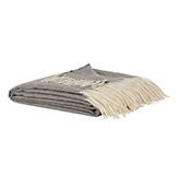 manta de color gris