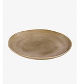 plato plano de mesa