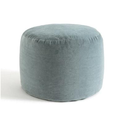 asiento puff de estilo nórdico