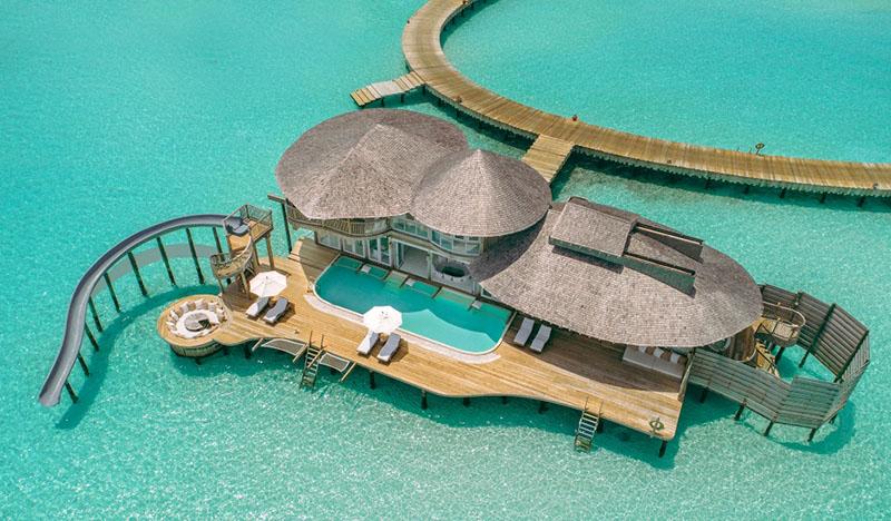 hotel tipo resort en maldivas