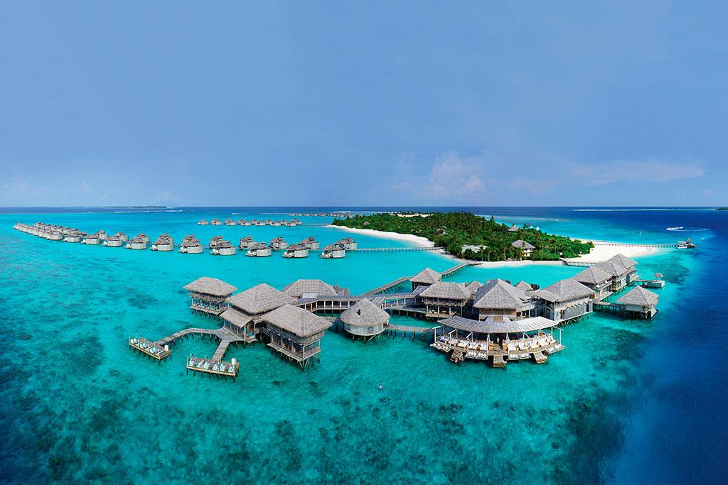 resort de lujo Maldivas