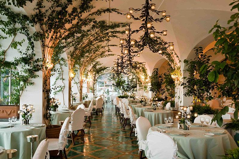 restaurantes en la costa de amalfi