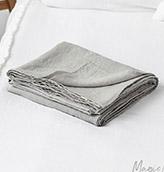 sábana de lino lavado
