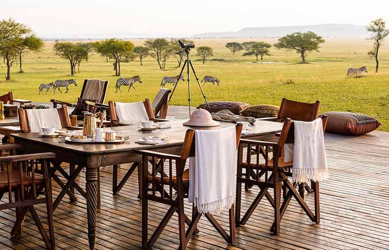 viaje de lujo a Tanzania