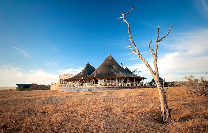 Un safari de lujo en Namibia