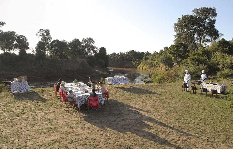 Campamento masai en Kenia